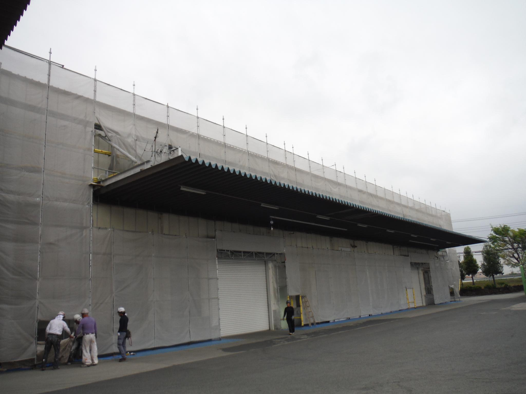 工場外壁改修工事